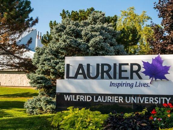 View of Wilfrid Laurier University near The Inn of Waterloo