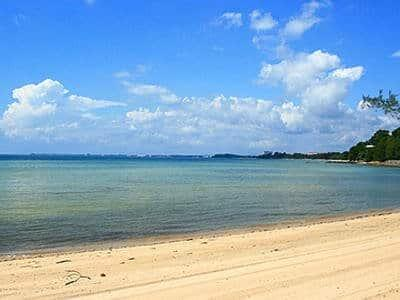 blue lagoon beach at port dickson