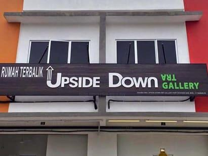 tourist attraction upside down house of port dickson
