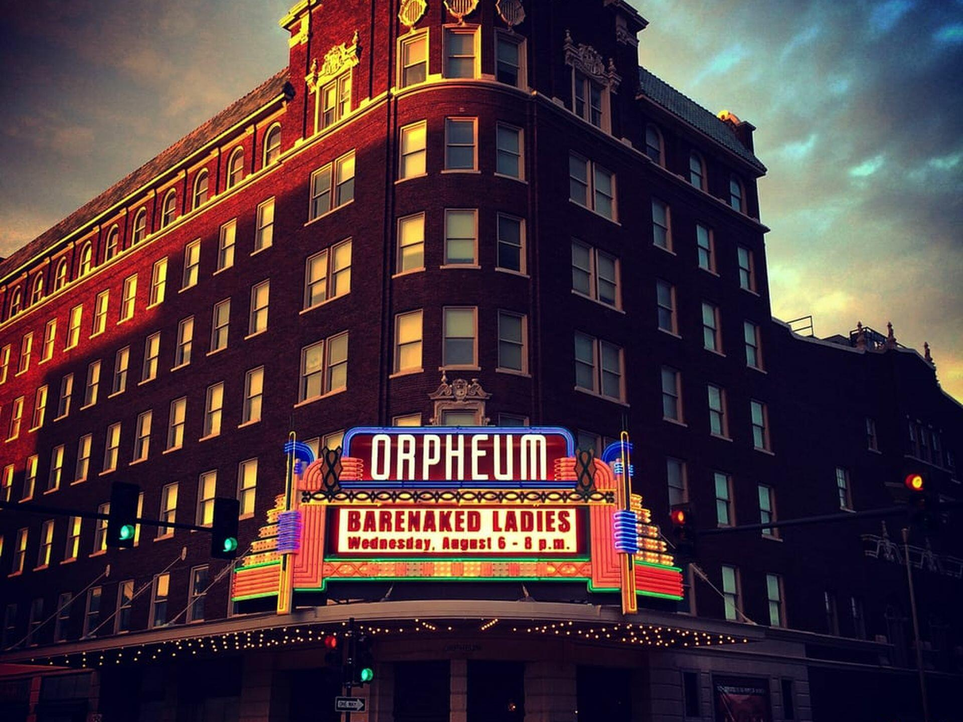 Exterior view of Orpheum Theater near Hotel at Old Town