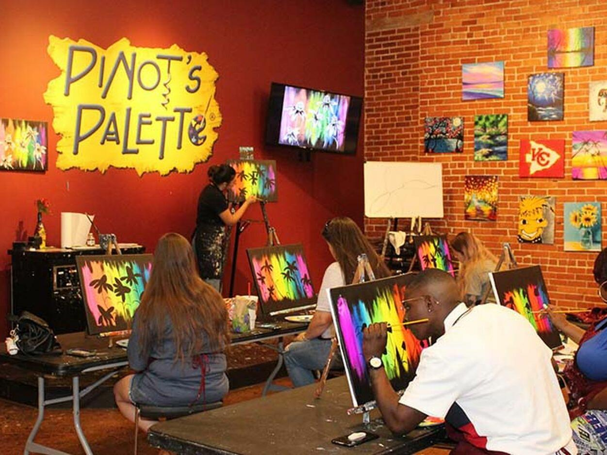 Interior view of Pinot's Pallette near Hotel at Old Town