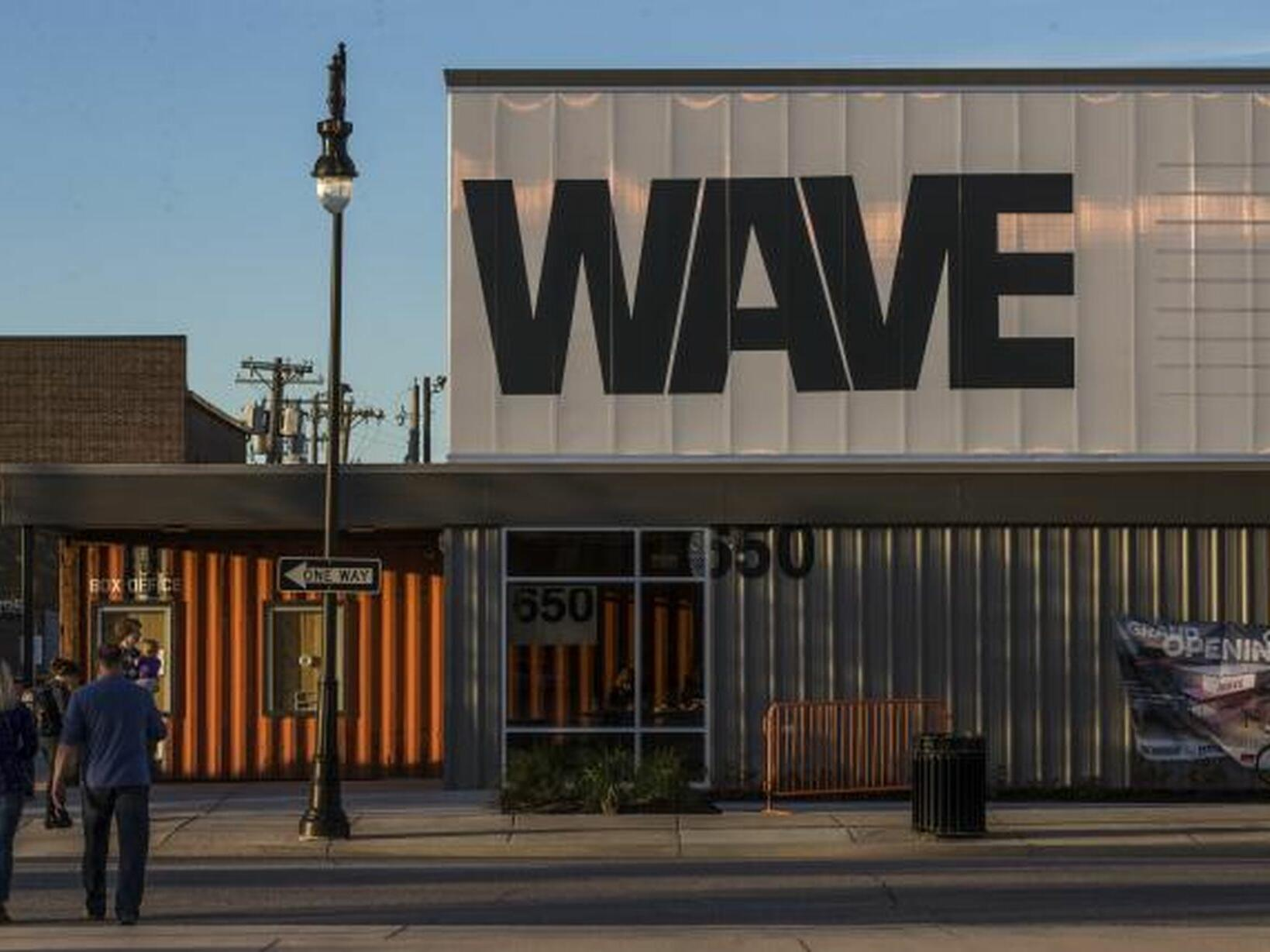 Exterior view of The Wave near Hotel at Old Town