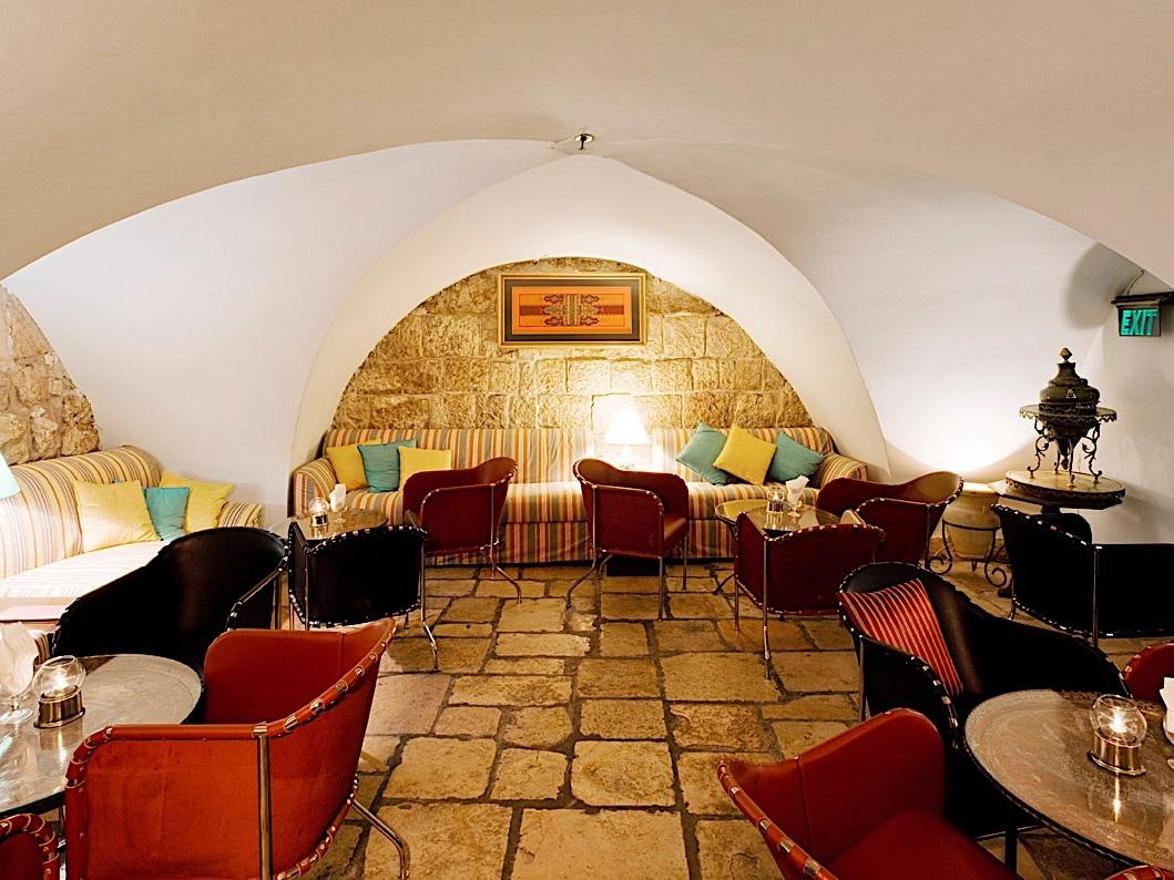 The Cellar Bar at The American Colony Hotel in Jerusalem