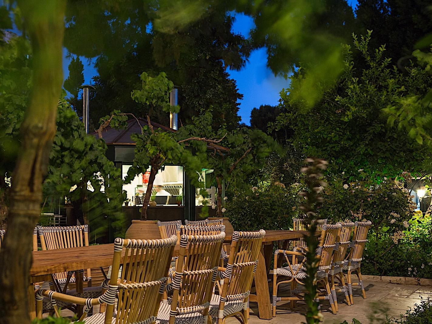 The Summer Bar at The American Colony Hotel in Jerusalem