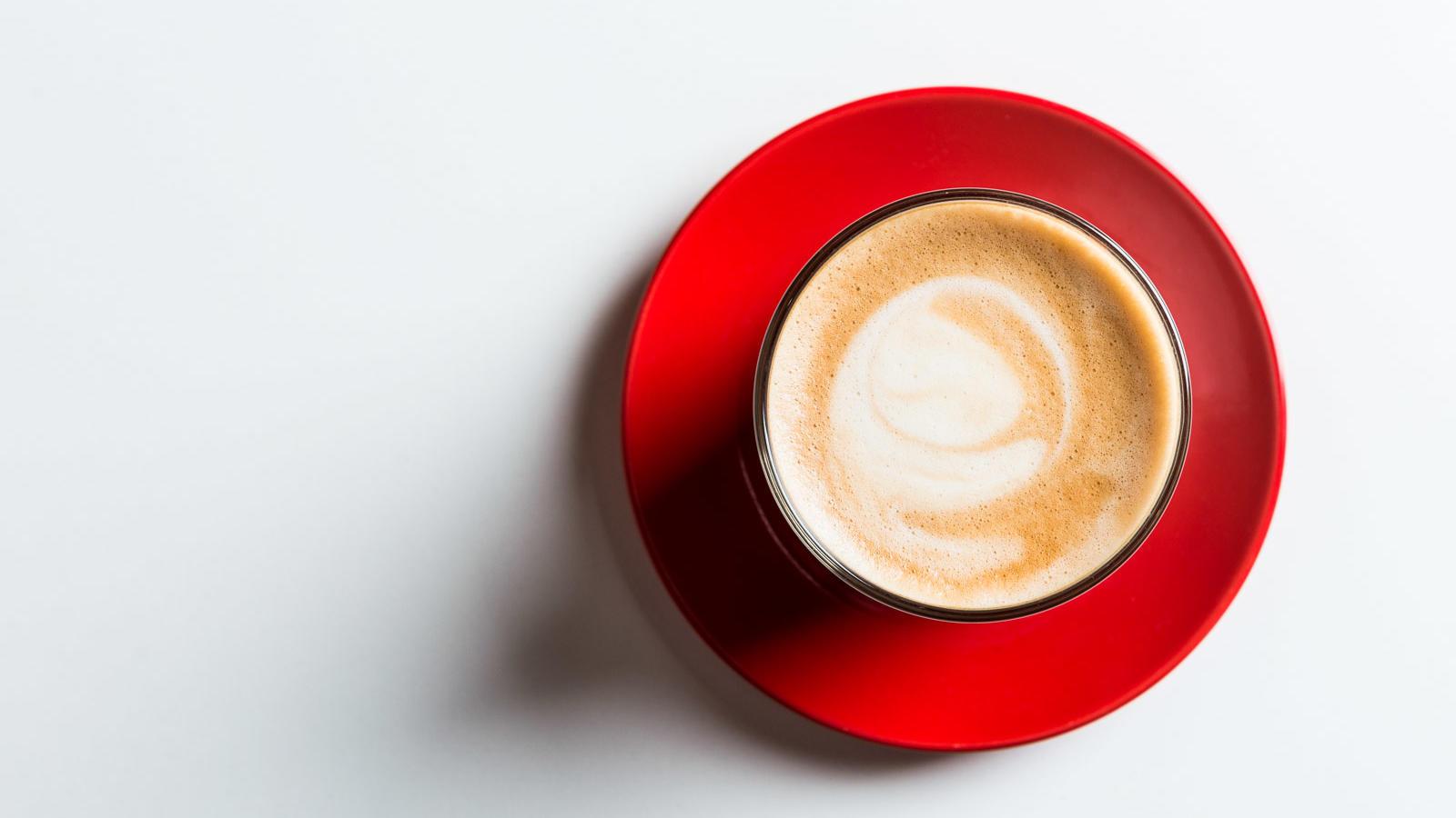 Coffee at Jasper Kitchen Restaurant Melbourne