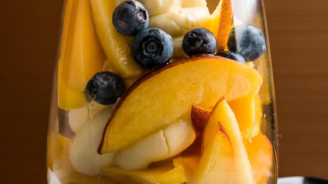 Fruit Salad at Jasper Kitchen Restaurant Melbourne