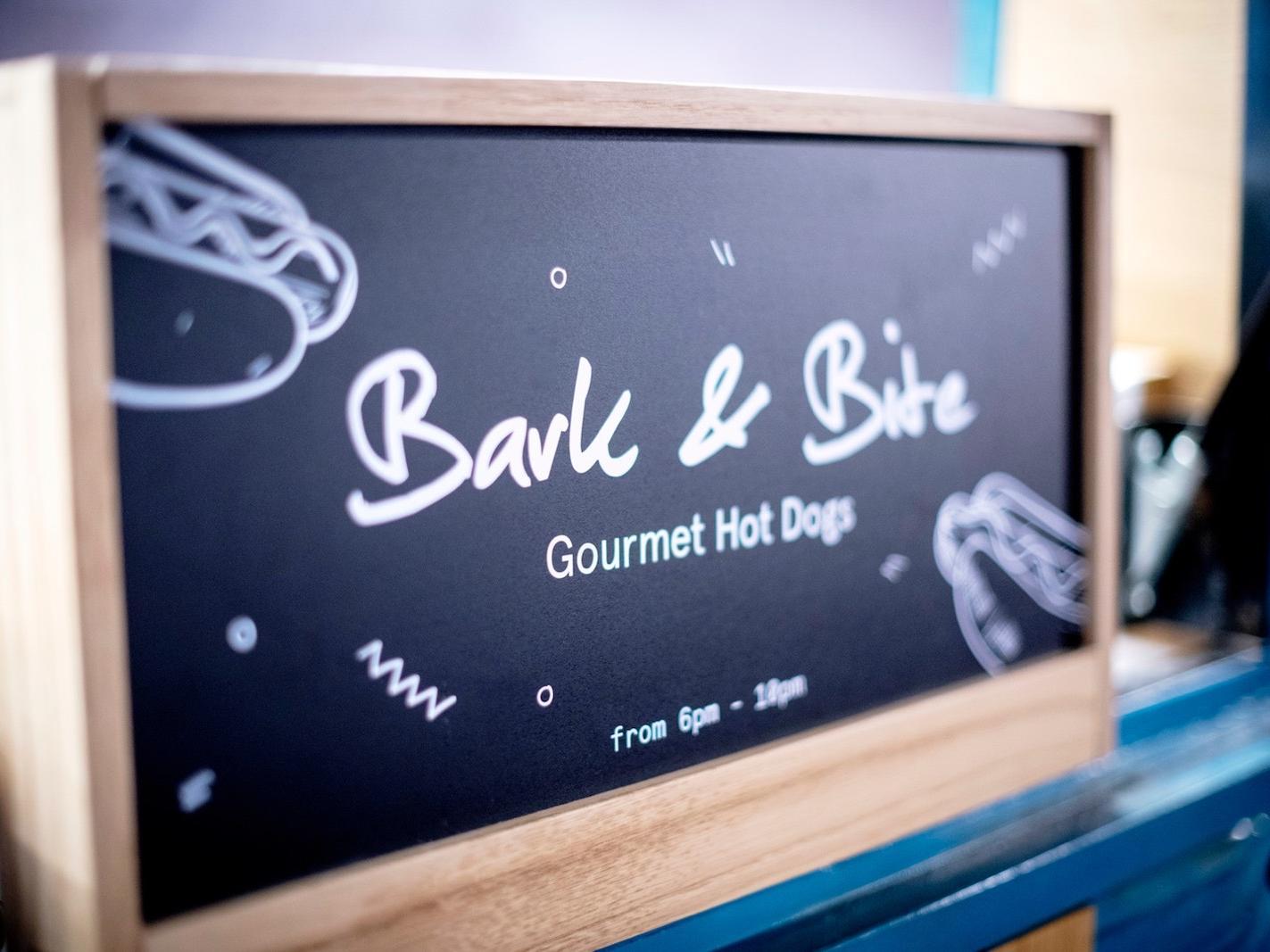 Bark & Bite food truck at Hotel Hubert Brussels near Grand Place