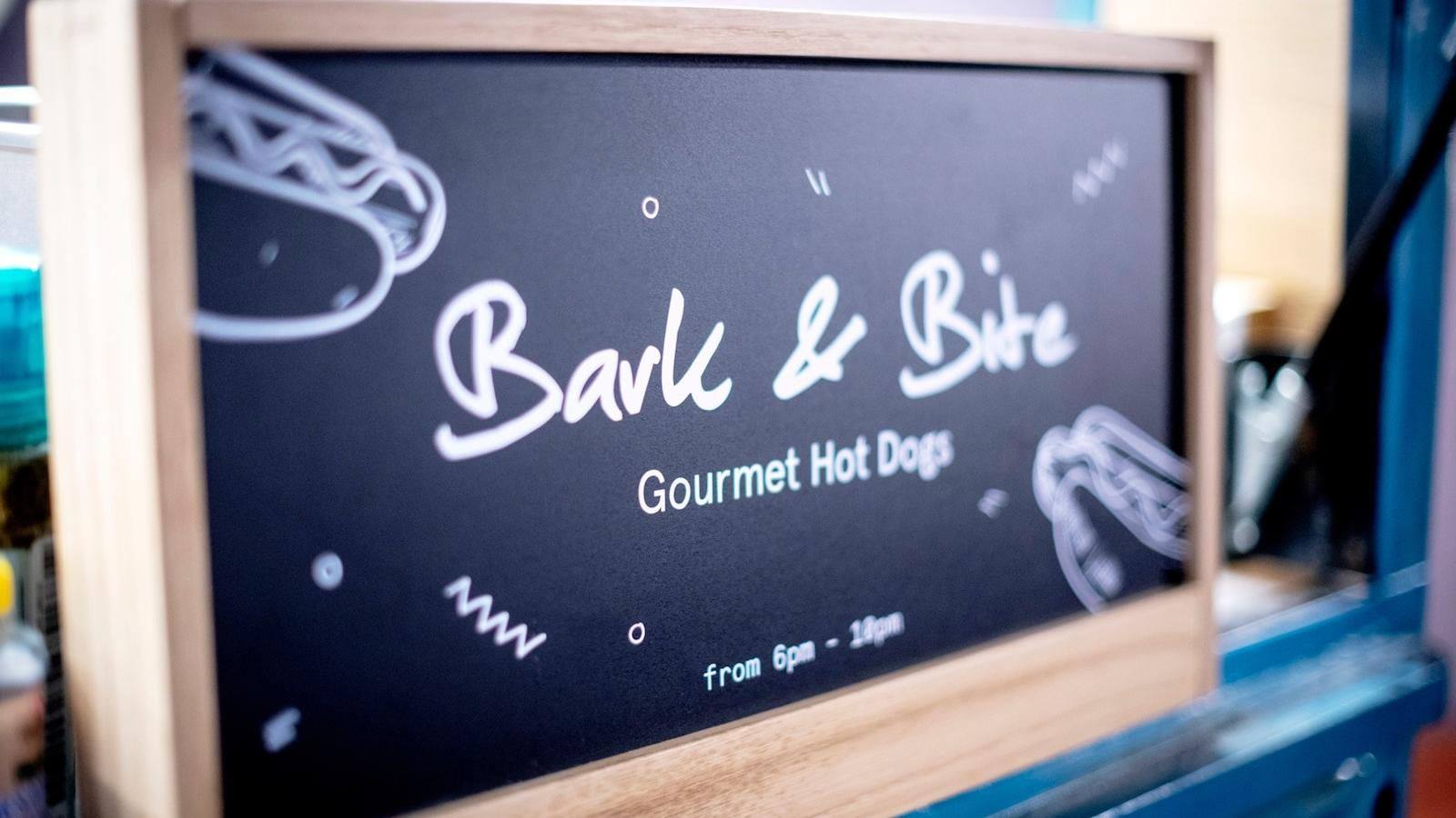 Bark & Bite food truck at Hotel Hubert Brussels near Grand Place