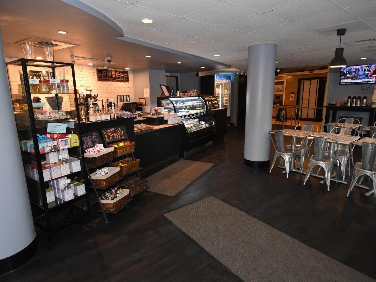 bakery and coffee bistro in baltimore hotel