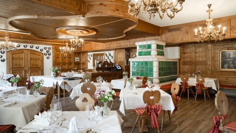 A-la-carte-Restaurant Zirbe at Schloss Pichlarn