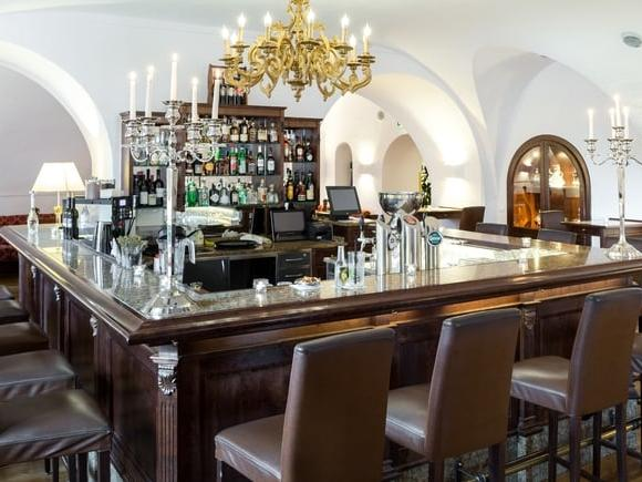 Restaurant at Schloss Pichlarn Hotel in Austria
