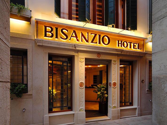 Bisanzio Café at Hotel Bisanzio in Venice, Italy