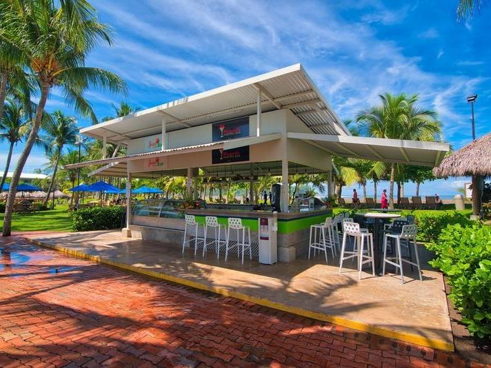 asty fruit bar juice at Fiesta Resort