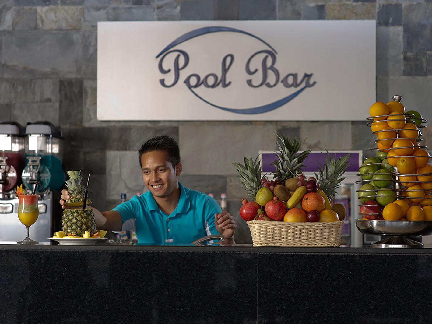 Pool Bar Waiter Two Seasons Hotel