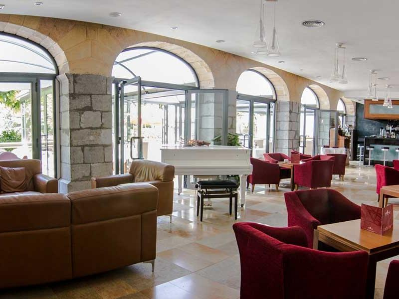 Lobby bar at Gran Hotel Sóller in Sóller, Majorca