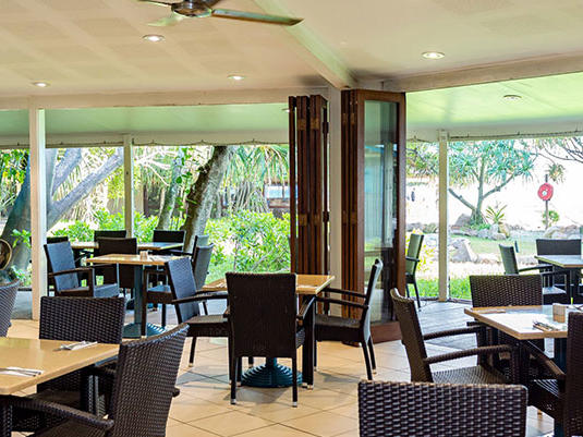 Shearwater Restaurant at Heron Island Resort in Queensland, Australia