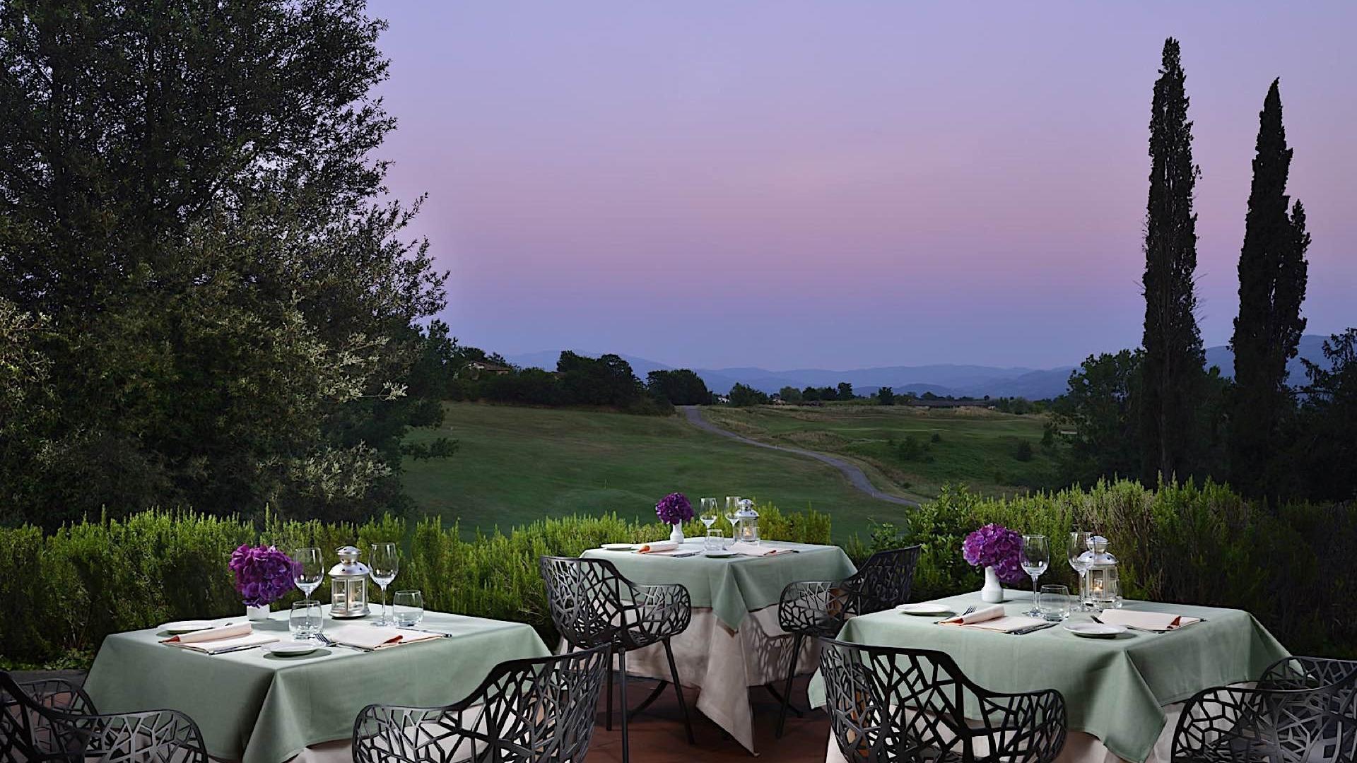 Restaurant Terrace | Poggio dei Medici Toscana