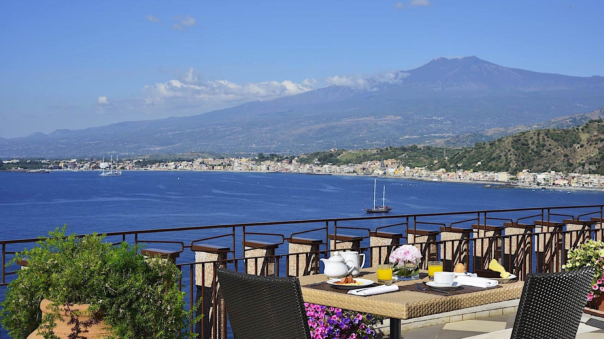 Breakfast Terrace | Capotaormina