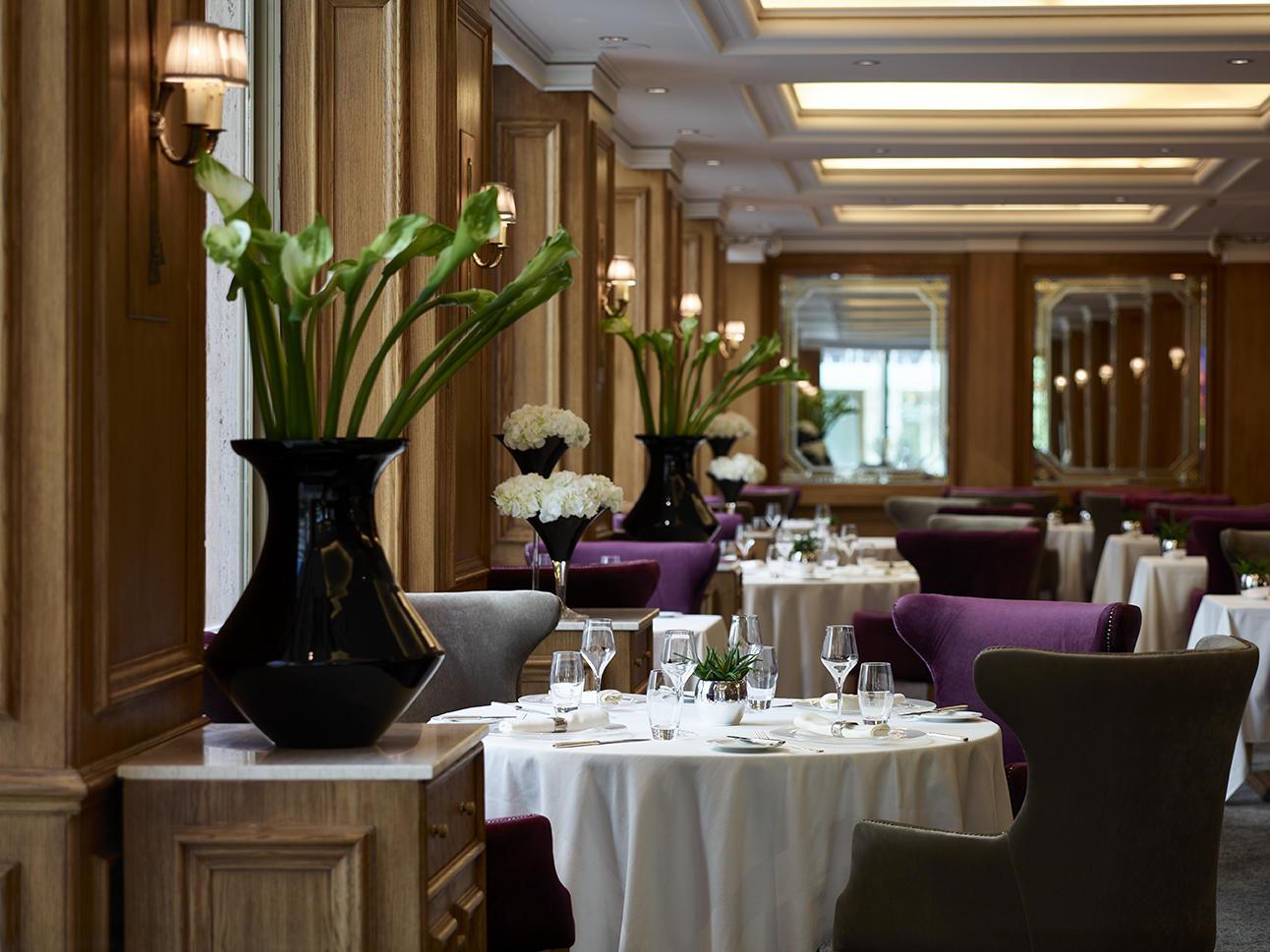 Parliament restaurant at NJV Athens Plaza hotel