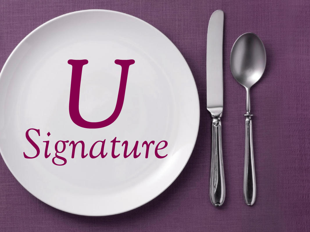 Your Signature Dishes  at U Hotels and Resorts