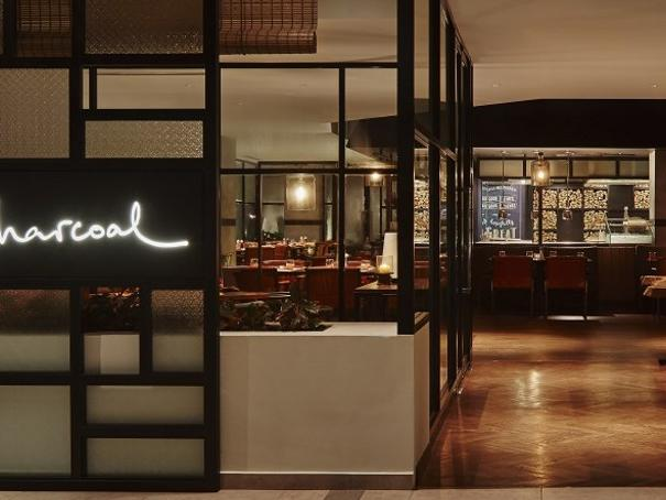 A view of  Charcoal restaurant area at The Saujana Hotel Kuala Lumpur