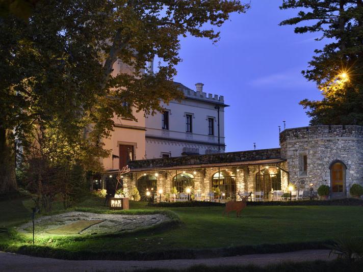 Dan Garden Lounge at Castello dal Pozzo in Oleggio Castello, Italy