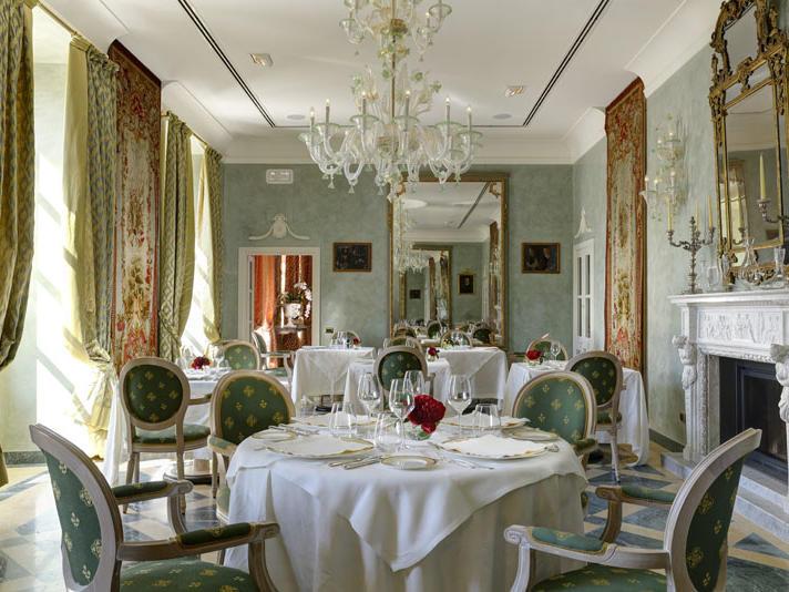 Restaurant Le Fief at Castello dal Pozzo in Oleggio Castello, Italy