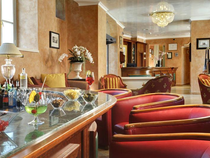 American Bar at Castello dal Pozzo in Oleggio Castello, Italy