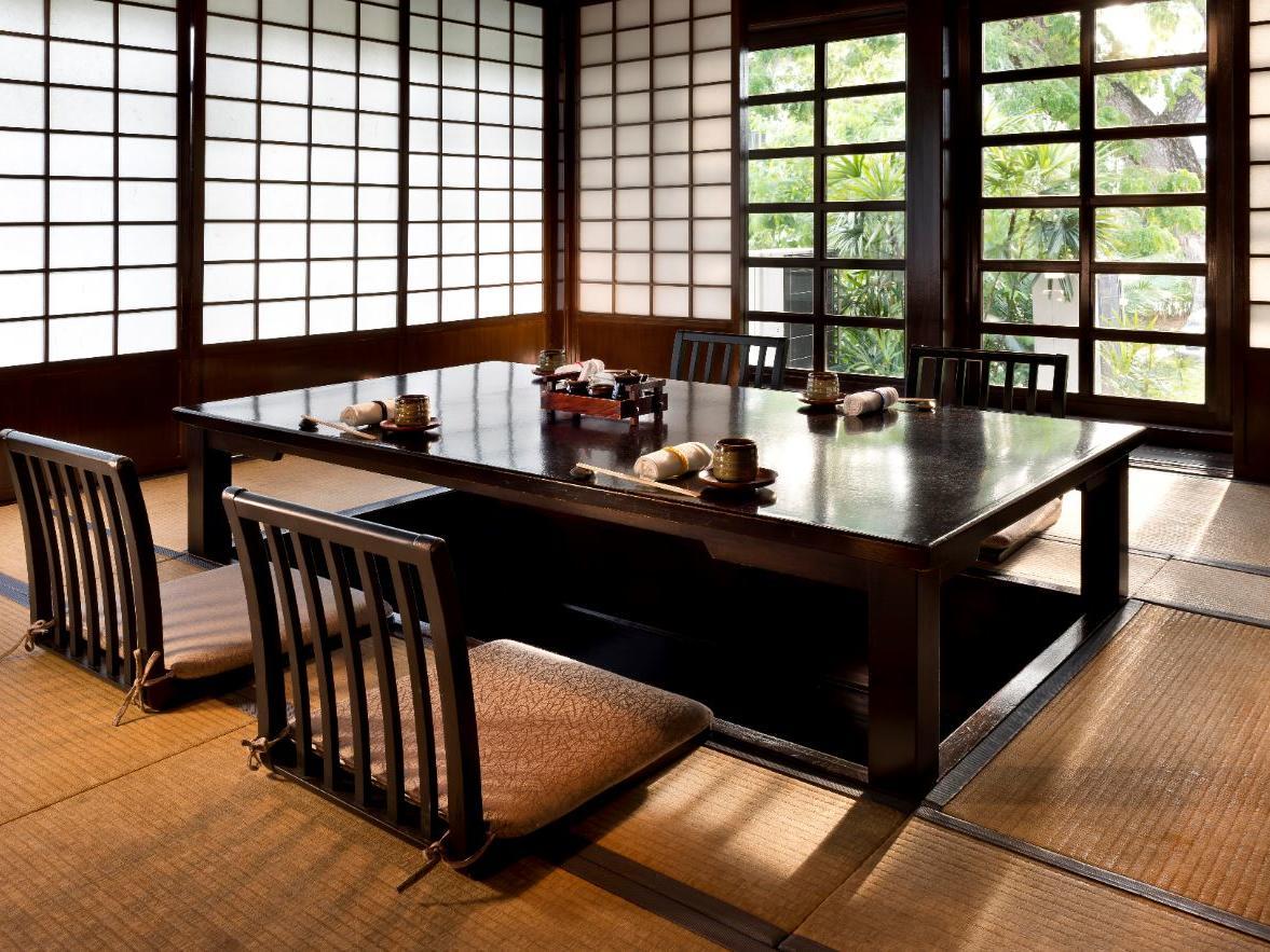 A view of Kogetsu restaurant dining table at The Saujana Hotel Kuala Lumpur