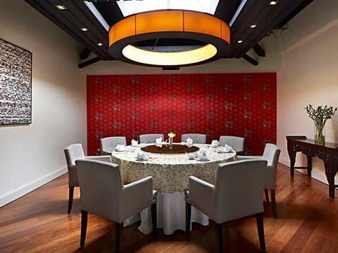 Royal dining area in Ti Chen restaurant at The Saujana Hotel Kuala Lumpur
