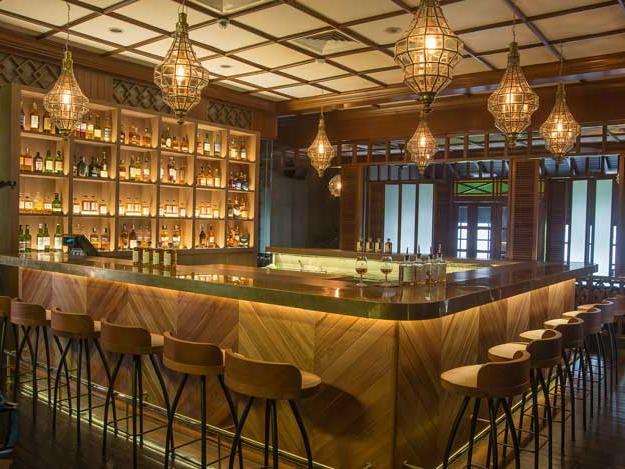 A view of RP and Whisky Bar at The Saujana Hotel Kuala Lumpur