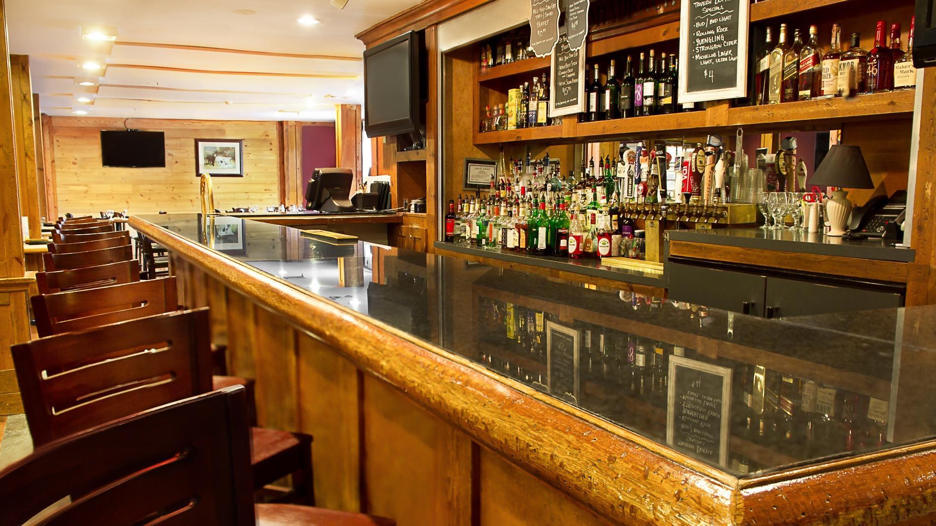 Bar at The Tavern