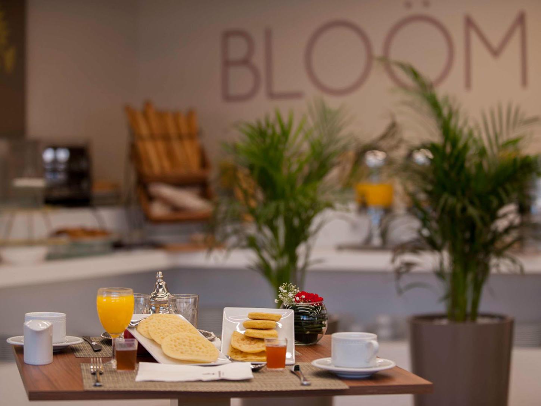 Bloom Restaurant at Kenzi Basma Hotel in Casablanca, Morocco