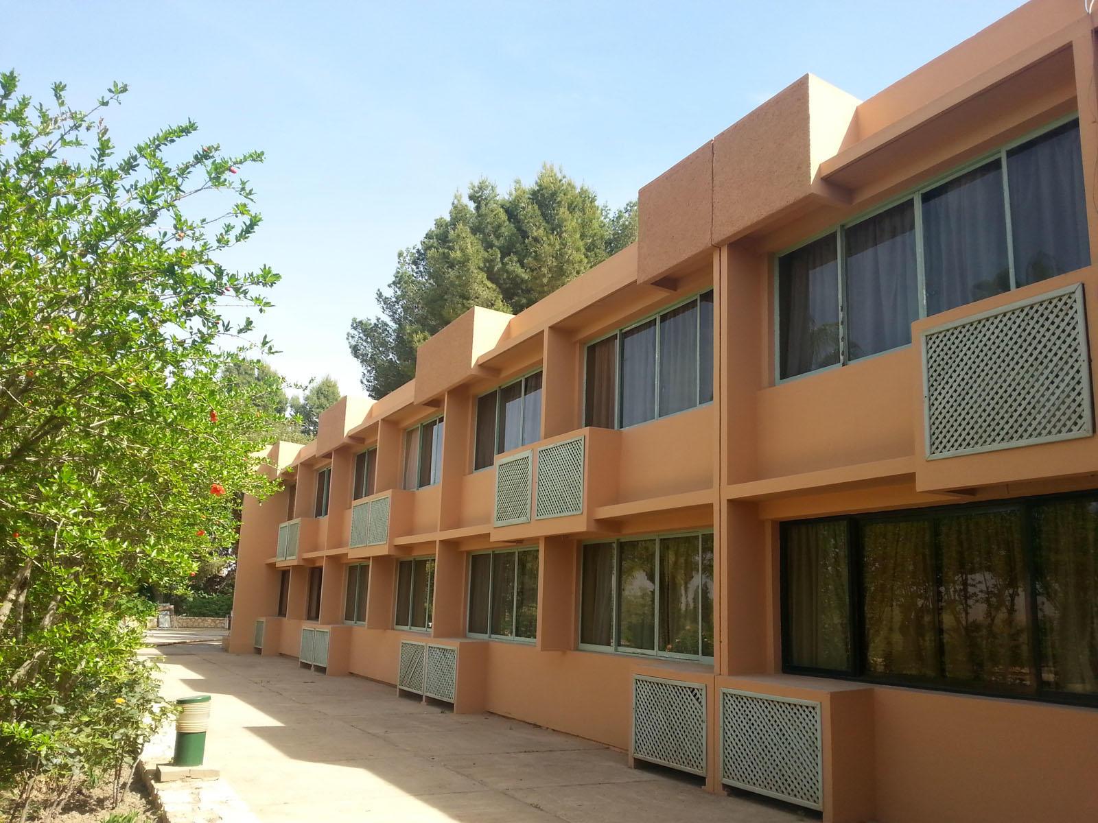 Garden at Kenzi Rissani Hotel in Errachidia, Morocco