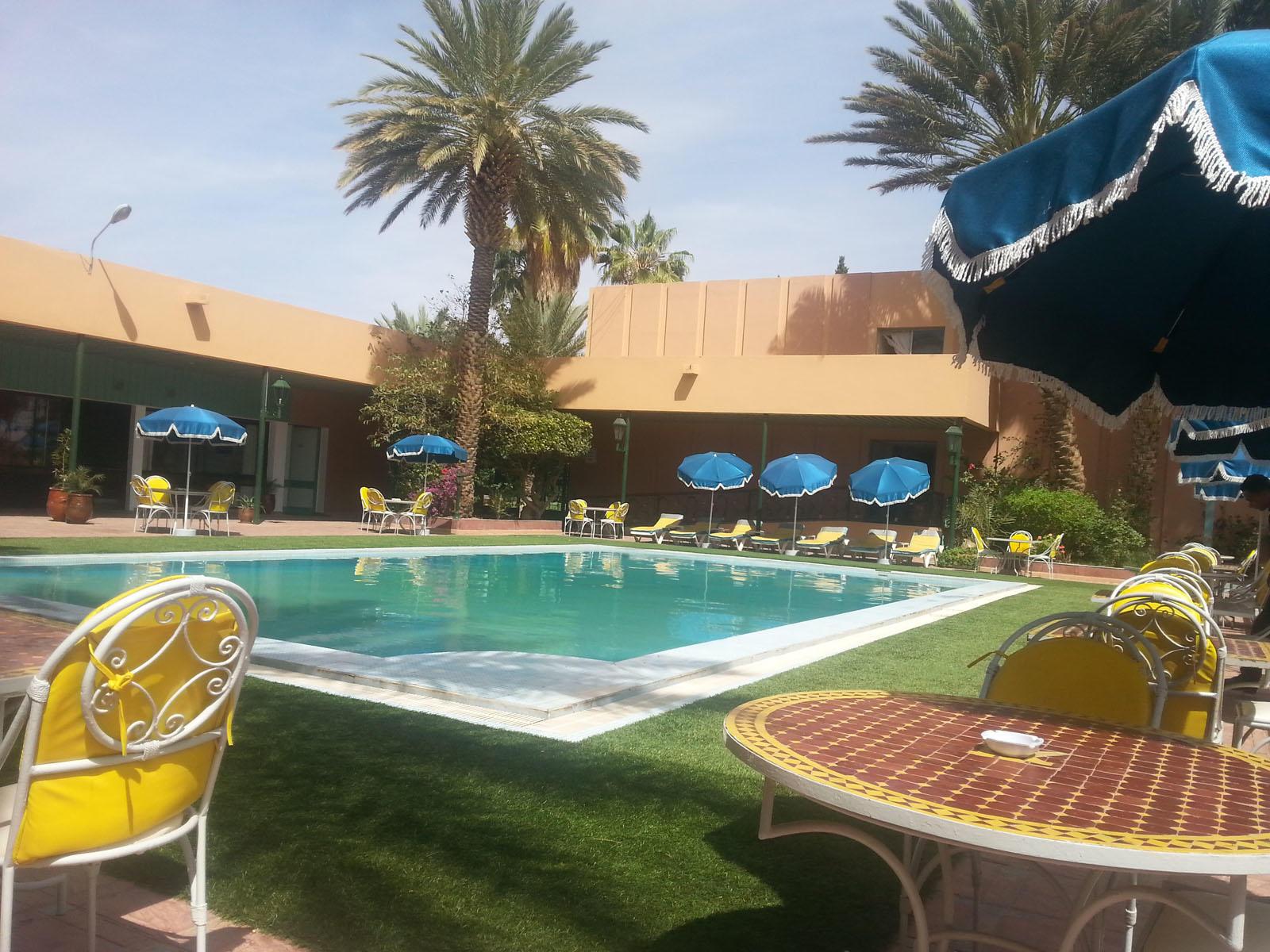 Pool at Kenzi Rissani Hotel in Errachidia, Morocco