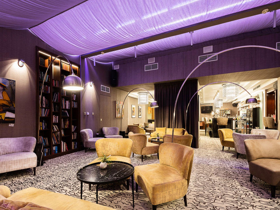 Executive Lounge at Hotel KINGS COURT in Prague