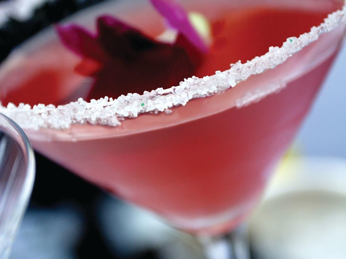 Dark martini.