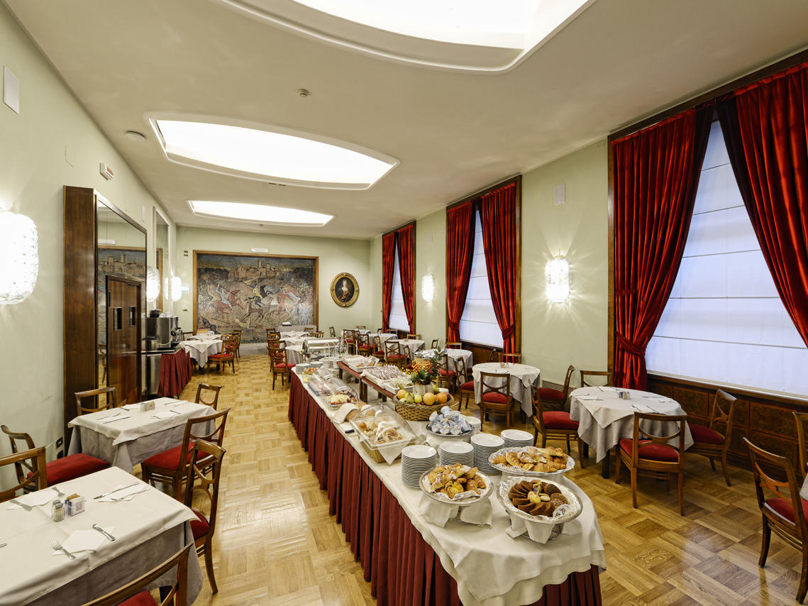 Sala Mosaico Hotel Massimo D'Azeglio 1