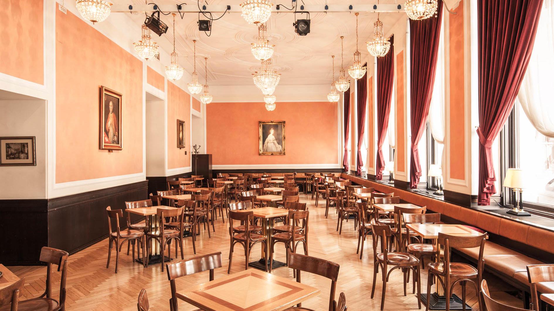 Union Cafe at uHotel in Ljubljana