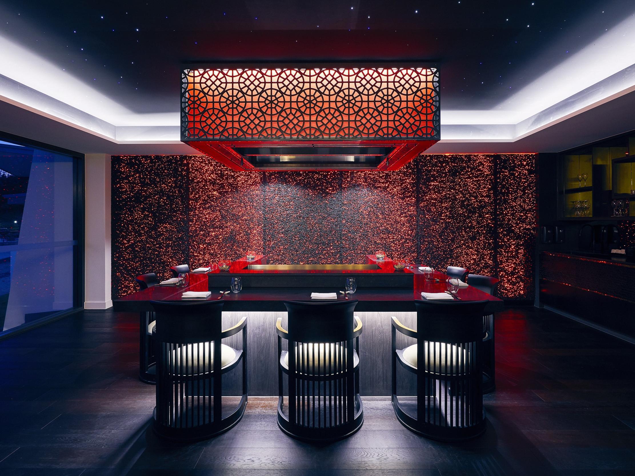 Infinity Restaurant - Teppanyaki suite