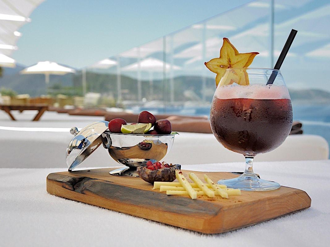 Bars at Sarpedor Boutique Beach Hotel in Bodrum, Turkey