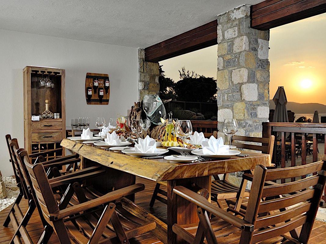 Wine Cellar at Sarpedor Boutique Beach Hotel in Bodrum, Turkey