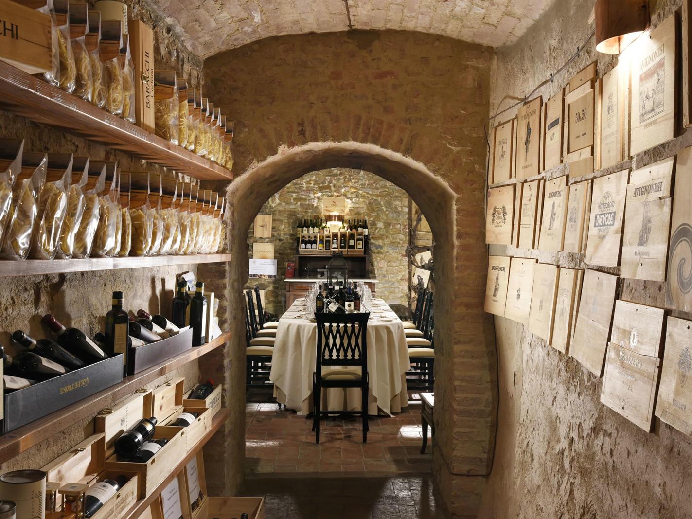 Winecellar | Palazzo Mannaioni Toscana
