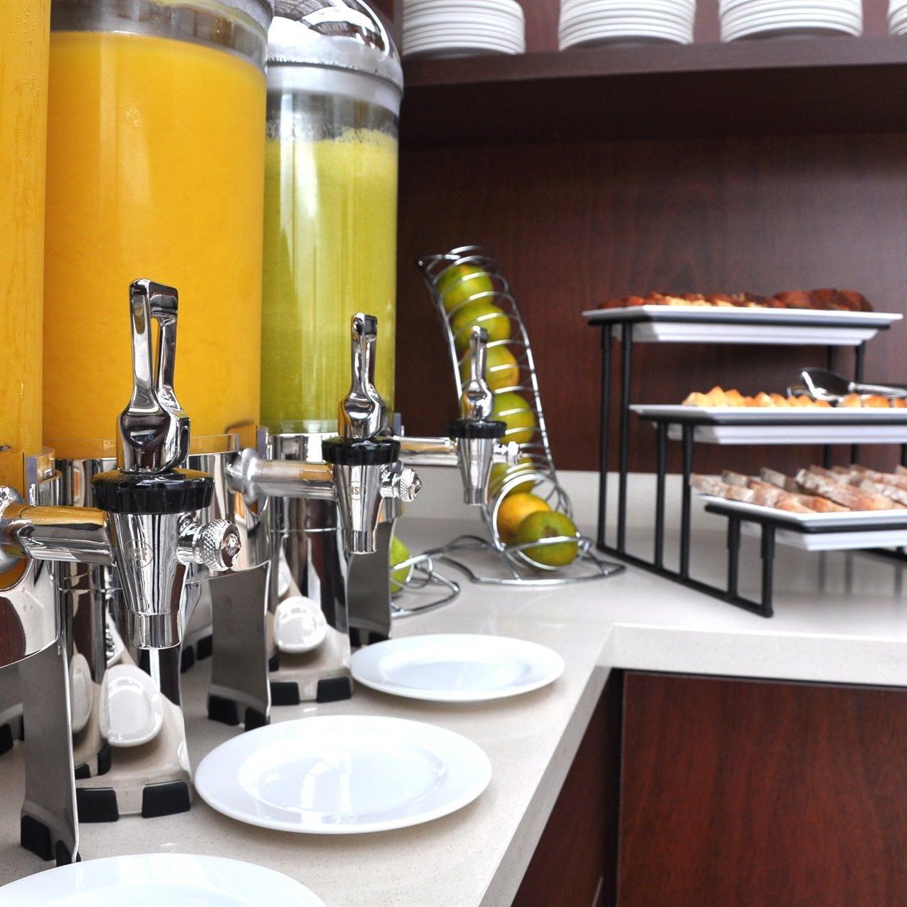 Bufett desayuno restaurante
