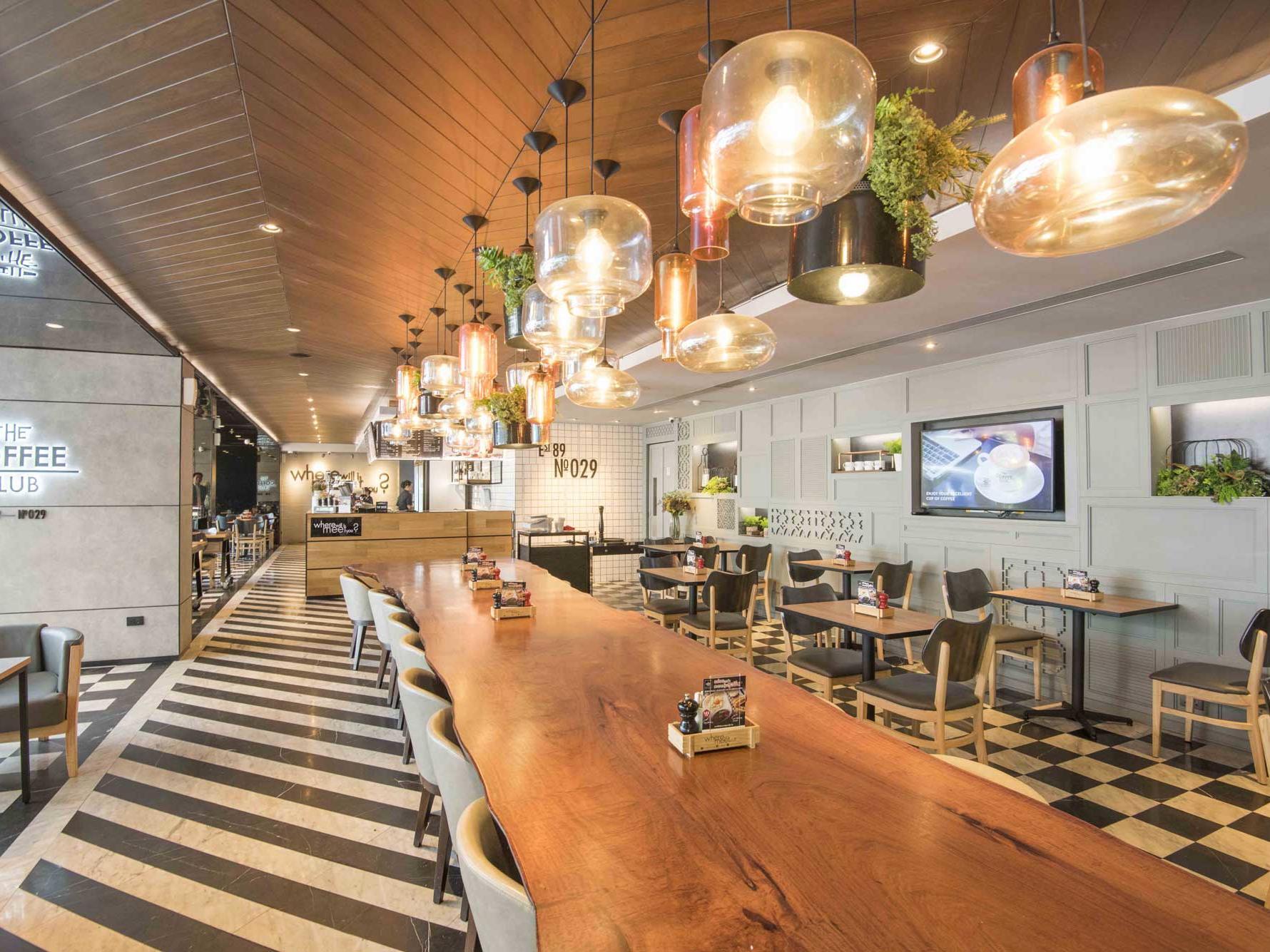 Coffee Club dining area entrance at Maitria Hotel Sukhumvit 18 Bangkok