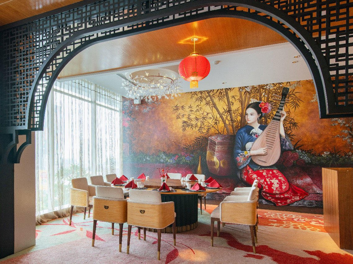 Private dining area at Xiang Fu Hai