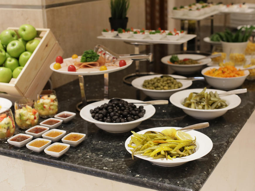 Catering at VIP Hotel in Doha