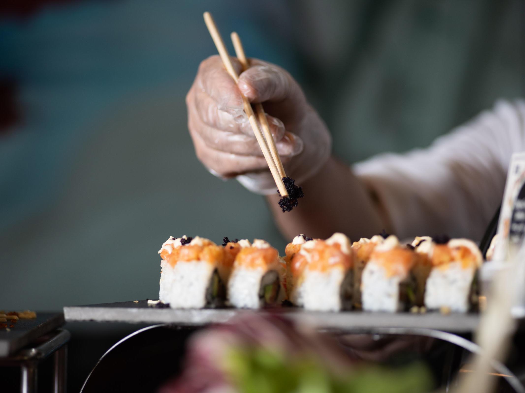 Fusion Sushi Restaurant Dubai