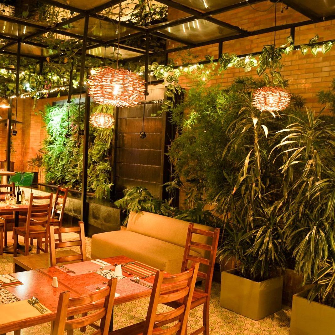 Restaurante Planta Hotel Factory Green