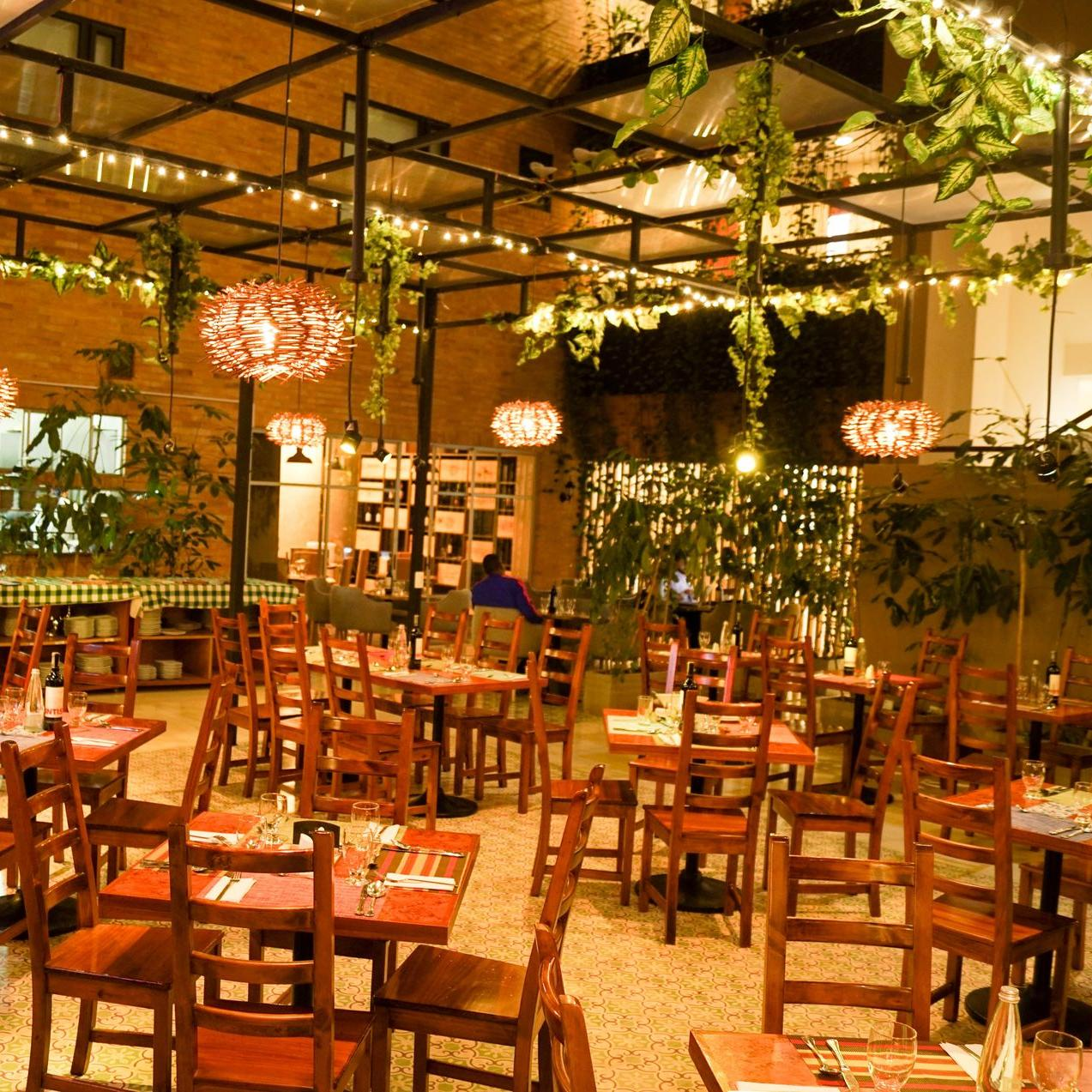 Restaurante Planta Hotel Factory Green
